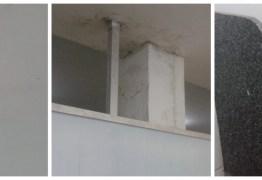 DENÚNCIA POPULAR: Insetos e problemas na estrutura de Hospital Infantil do Valentina preocupa usuários