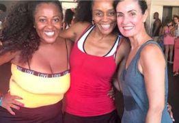 Fátima Bernardes faz aula de dança afro: 'É uma grande honra' – VEJA VÍDEO