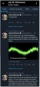 Carlos retuitado 139x300 - Bolsonaro retuita mensagens em que filho acusa ministro de mentir