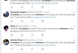 É antiga a notícia de que jornalistas foram espancados por milícias no Rio