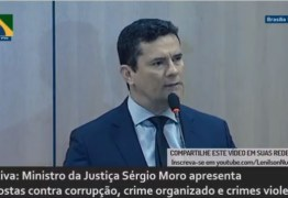 AO VIVO: Sérgio Moro apresenta projeto Pacote AntiCrime