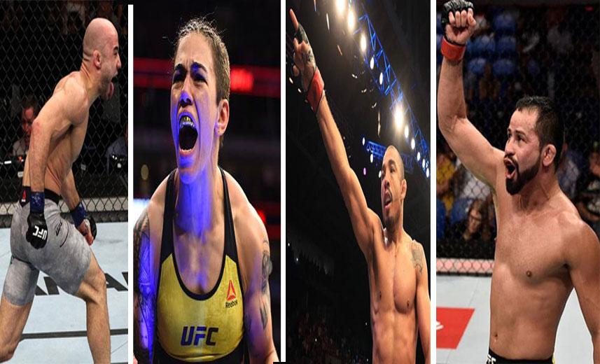 Marlon Jessica Aldo Formiga SL MMA Press 1 - Quem são os brasileiros que podem conquistar o cinturão do UFC em 2019?