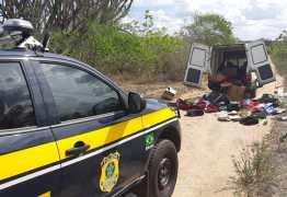 Carro roubado é encontrado pela PRF em Campina Grande