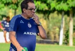 Apesar da derrota para o Bota-PB, Diá aprova atuação do Campinense