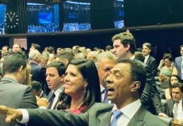 Lígia Feliciano participa da sessão de posse dos deputados federais em Brasília