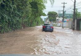 Fortes chuvas alagam ruas de João Pessoa; Veja a previsão do tempo para esta quarta – VEJA VÍDEO