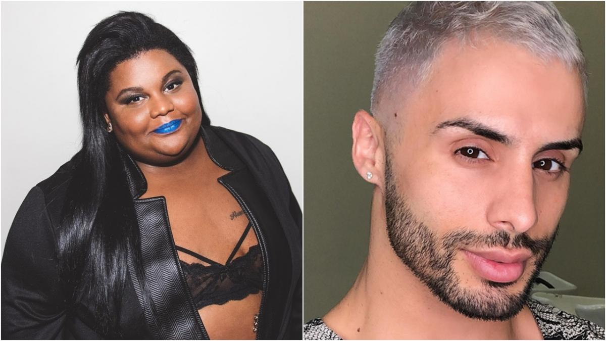 agustin fernandes mc carol - Agustin Fernandes e Mc Carol discutem na internet, após maquiador criar projeto social