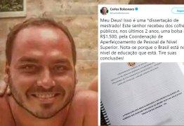 Professora repudia assédio moral promovido por Carlos Bolsonaro a mestrando da FURG