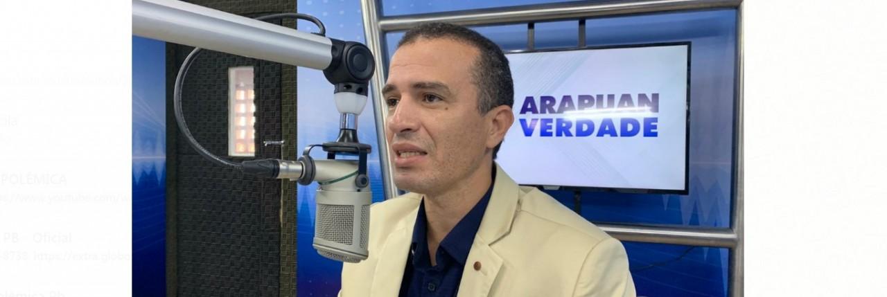 dr erico - 'PORTE DE ARMAS NÃO RESOLVE O PROBLEMA DA VIOLÊNCIA': afirma deputado Dr. Erico