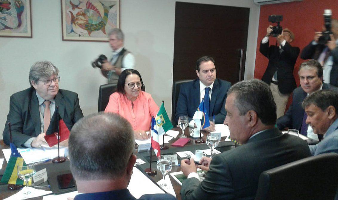 encontro de governadores do nordeste 5e 1132x670 - Governadores do Nordeste pedem ao STF que julgue redestribuição dos royalties do petróleo