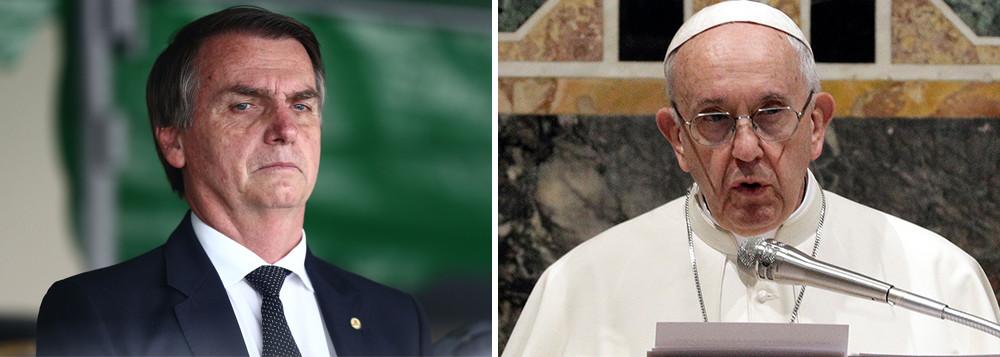 'CLERO PROGRESSISTA': Governo Bolsonaro pedirá ao Vaticano que 'segure' bispos brasileiros que podem criticar políticas