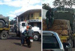 Maduro reage á ação de Bolsonaro e manda tanques para a fronteira