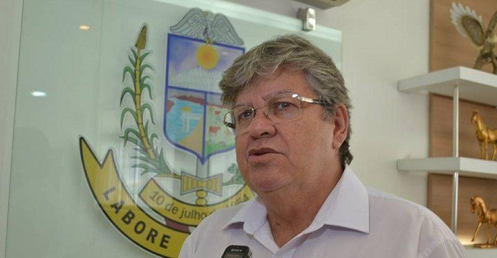 joão azevedo e1551213777987 - Governador fala sobre a Operação Calvário: 'Há uma exploração política por não entenderem que foram derrotados na eleição'