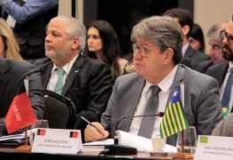 No Fórum Nacional de Governadores, João Azevedo afirma que pontos da reforma previdenciária devem ser analisados