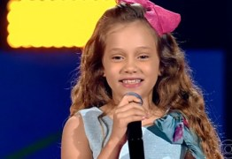 MAIS UMA PARAIBANA: Sofia Cruz de Campina Grande, é classificada no The Voice Kids 2019