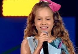 MAIS UMA PARAIBANA: Sofia Cruz de Campina Grande, é classificada no The Voice Kids 2019