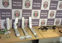 Homem é preso e mais de 10 kg de maconha são apreendidos na Zona Sul de JP