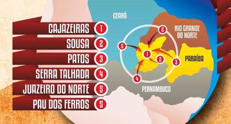 zona franca semiarido mapa 20 03 2018 - Zona Franca do Semiárido: desafios e oportunidades