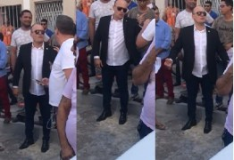 Após discussão com Emerson Machado, Cabo Gilberto nega que tenha ameaçado repórter; VEJA VÍDEO