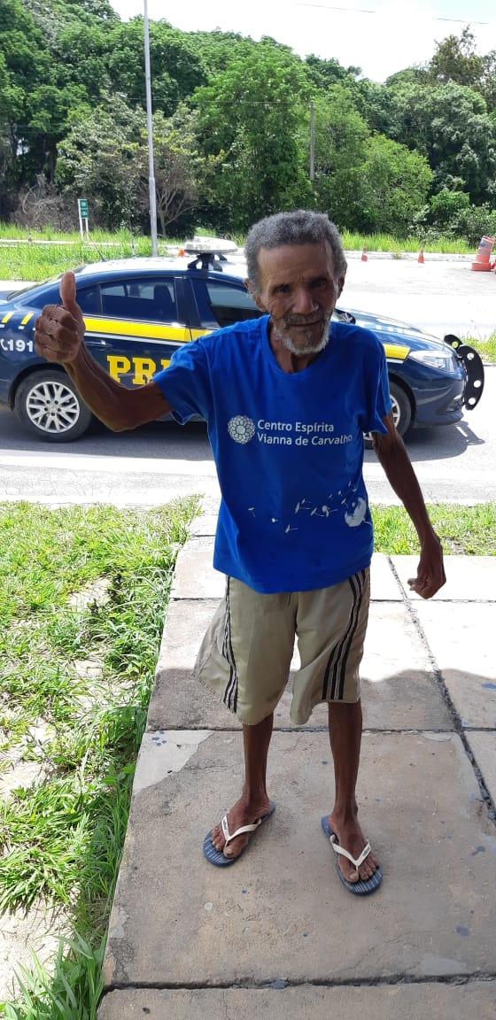 3a37aa52 fed8 4f99 8fed b2356705bbe8 - PRF resgata idoso desaparecido desde o Carnaval e promove reencontro com família; VEJA VÍDEO