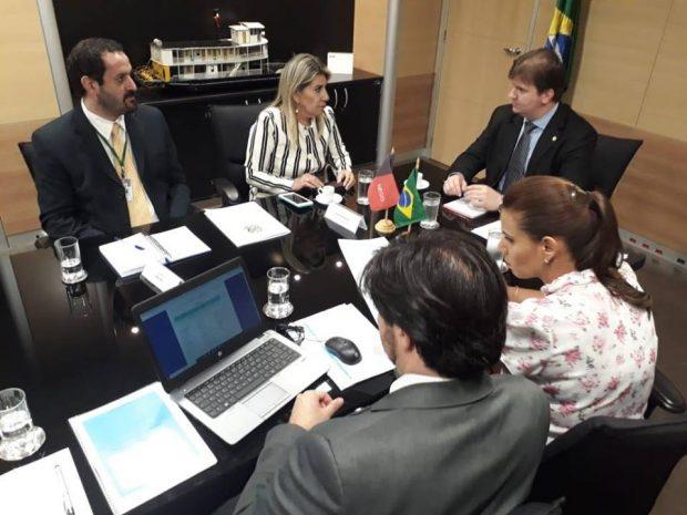 55455362 1506145456182164 7962834856721776640 n 620x465 - EIXO NORTE: Deputada Edna Henrique apresenta pleitos para desenvolvimento de municípios paraibanos em reunião com ministro