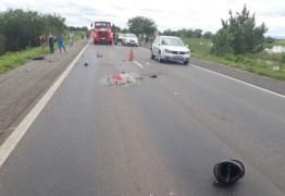 TRAGÉDIA NO SERTÃO: Grave acidente entre carro e moto deixa dois mortos na BR 230