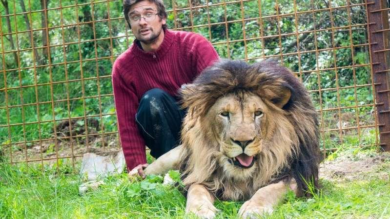 BBUq01D - Homem é morto por leão que criava no quintal de casa