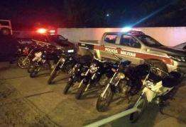 Polícia intercepta 'rolezinho', persegue suspeitos e apreende várias motos na Grande JP