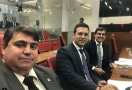 NINJA NA REDE: vereador Dinho mostra disposição para o trabalho, ao lado de colegas, na CMJP