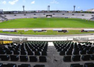 Estádio Almeidão 696x497 300x214 - Botafogo-PB enfrenta o Sampaio pela Copa do Nordeste, neste Domingo