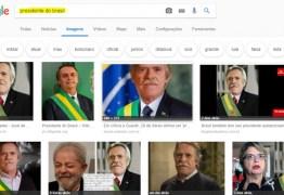 Até o Google Imagens já 'reconhece' Zé de Abreu como presidente do Brasil