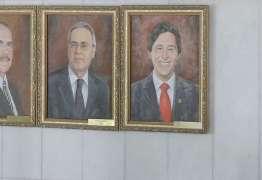 QUADRO DE R$ 8,2 MIL: Eunício Oliveira é 'imortalizado' em galeria do Senado