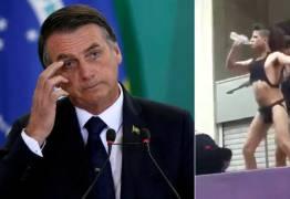 Ação popular pede para Bolsonaro retirar vídeo obsceno do Twitter