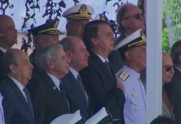 Democracia e liberdade só existem quando as Forças Armadas querem, diz Bolsonaro a militares no RJ