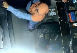 FLAGRA: Câmeras de segurança mostram assaltantes invadindo clube de tiro em JP; VEJA VÍDEO
