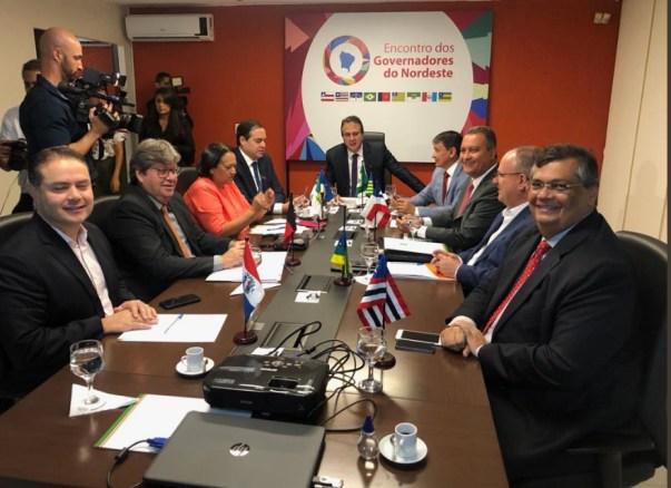 governadores 300x218 - CONSÓRCIO NORDESTE: João Azevêdo participa hoje de reunião com governadores no Maranhão