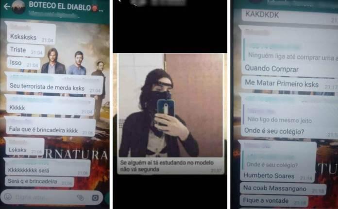 Em Grupo De Whatsapp Estudante Planeja Suposto Ataque Em