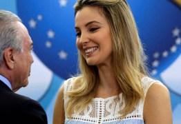 Após prisão do ex-presidente, buscas por 'Marcela Temer' crescem 4.450% no Google