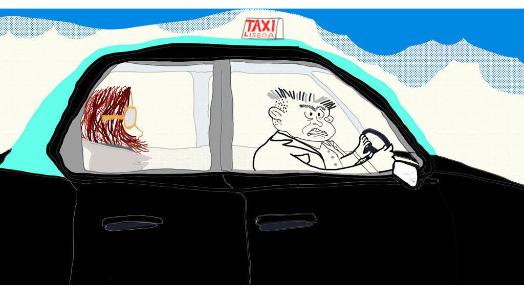 taxi - O mundo não teria problemas se todos fizessem a própria cama - Por Fernanda Torres