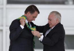 'A Justiça nasceu para todos e cada um que responda pelos seus atos', diz Bolsonaro sobre Temer