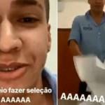 1 curriculo 10821549 - Homem é demitido por debochar de currículos recebidos - VEJA VÍDEO