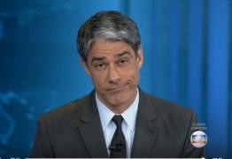 William Bonner sai do Jornal Nacional e Globo tenta encontrar substituto às pressas