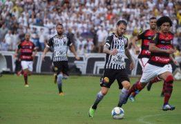 Destaque do Botafogo-PB no ano, Clayton sofre com grande número de faltas sofridas