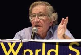 Em carta, Noam Chomsky saúda Lula por entrevista: 'desempenho inspirador'