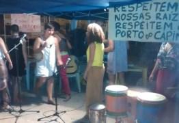 'RESPEITEM NOSSAS RAÍZES': moradores do Porto do Capim fazem mobilização por permanência da comunidade no local
