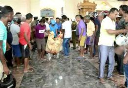 Presos suspeitos de séries de ataques a igrejas e hotéis no Sri Lanka