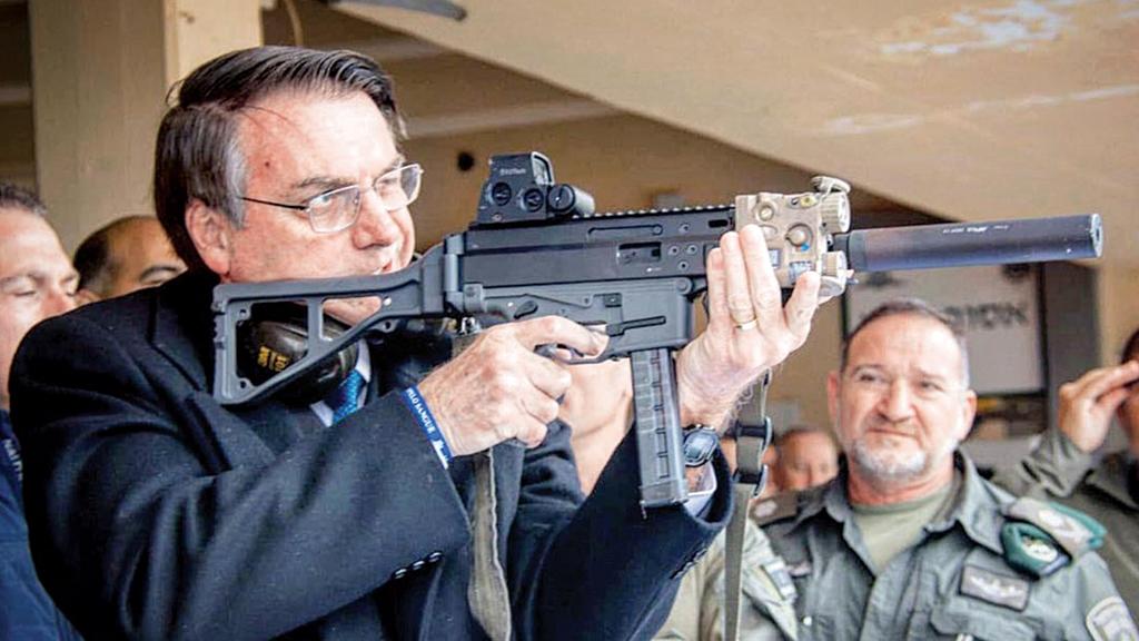 bolsonaro arma israel - Um tiro na diplomacia e a política externa de Bolsonaro - Por Ary Filgueira