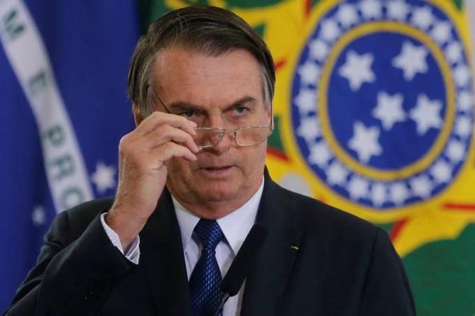 bolsonarooo - Em nota, Bolsonaro manda Olavo de Carvalho parar de criticar integrantes do governo