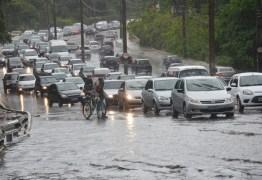 MUITA CHUVA: Cidades na Região Metropolitana de João Pessoa já receberam mais de 200 mm de chuvas em junho
