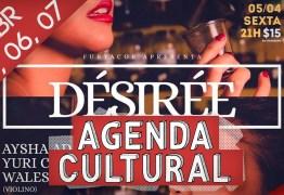 AGENDA CULTURAL: Confira os eventos deste fim de semana em João Pessoa